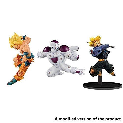 XXSDDM-WJ Dragonball Z-Match Hersteller Super Saiyajin Son Gokou Gefrierschrank-Dragonball Super Modell PVC der Colosseum World High Volume 8 2 Zoll (3 Stück) - 2-Trunks - Trunks-5