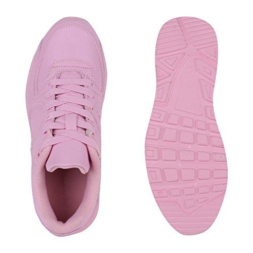 Damen Herren Unisex Laufschuhe Neon Runners Casual Schuhe Sportschuhe Rosa Berkley