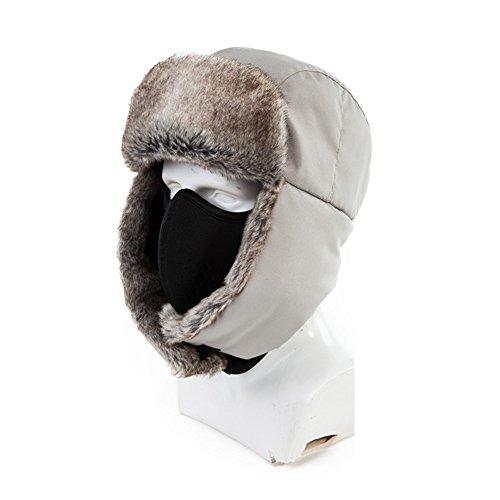 Lei Feng en hiver chapeau/Épaissir et cache-oreilles Cachemire ski Bonnet/chapeau d'hiver cyclisme extérieure A