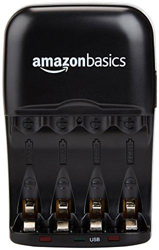 Zoom IMG-1 amazonbasics carica batterie con porta