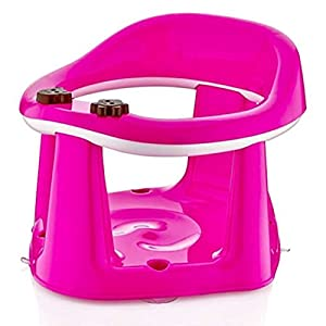 3 In 1 Baby Toddler Child Bath Support Seat Safety Bathing Safe Dinning Play BPA FREE (PINK)