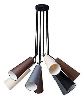 Kare 35731Suspension Multi Speaker, Lot de 10, gris/marron/noir