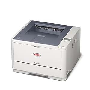 OKI B401d 2400 x 600DPI A4 Blanc - imprimantes laser et LED (2400 x 600 DPI, 30000 pages par mois, Epson FX,IBM ProPrinter,PCL 5e,PCL 6, LED, 29 ppm, 25 s)