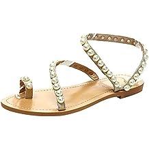 suchergebnis auf f r sandalen mit perlen. Black Bedroom Furniture Sets. Home Design Ideas