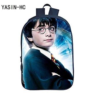 41jwe1j7wmL. SS324  - Bolso de la Escuela Primaria de impresión en 3D Harry Potter Mochila para niños Hombres y Mujeres Bandolera, patrón de cinturón de Regalo para niña