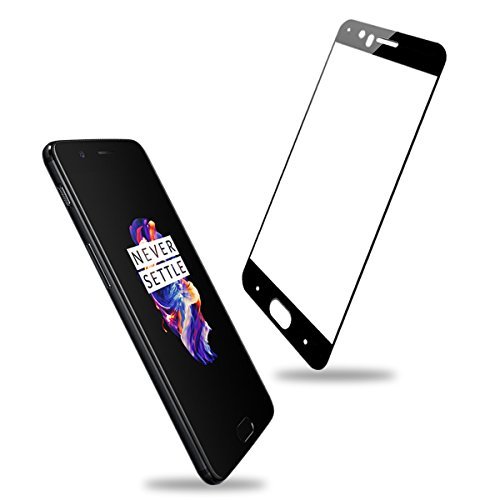 OnePlus 5 Protector de pantalla , Veotech Cobertura Completa cristal templado OnePlus 5 Tacto 3D Dureza 9H Ultra HD Anti-arañazos screen protector para OnePlus 5 –1 piezas