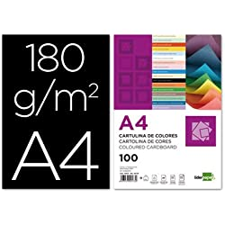 LIDERPAPEL A4 180G - 100 uds