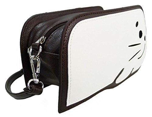 Kukubird Harper Guarnizione Novità Borsa Crossbody Bag Con Sacchetto Raccoglipolvere Kukubird Coffee