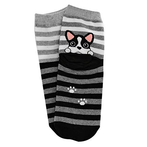 XuxMim Nette reizende Karikatur-Tier-Zoo-Socken-Damen-Mädchen-Baumwollwarme weiche -