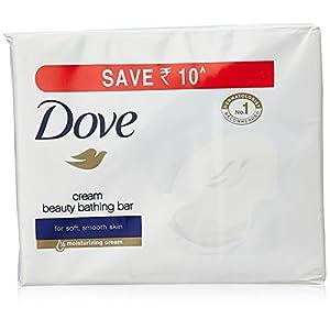 Dove Cream Beauty Bathing Bar, 100g (Buy 4 get 1)