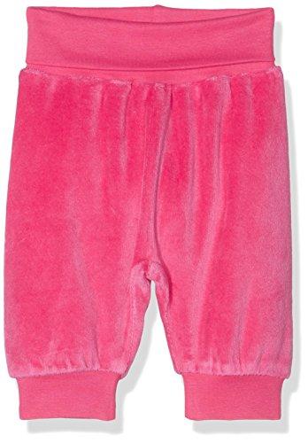 Schnizler Unisex Baby Hose Jogginghose, Pumphose, Babyhose Nicki mit Elastischem Bauchumschlag, Oeko-Tex Standard 100, Rosa (Pink 18),...