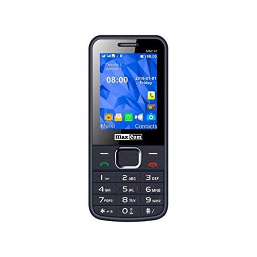 MaxCom MM141 2 4 106g Gris Tel fono b sico - Tel fono m vil Barra SIM doble 6 1 cm 2 4 Bluetooth 1400 mAh Gris