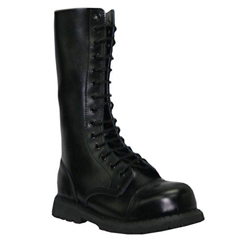 Grinders, Damen Stiefel & Stiefeletten  schwarz schwarz Schwarz