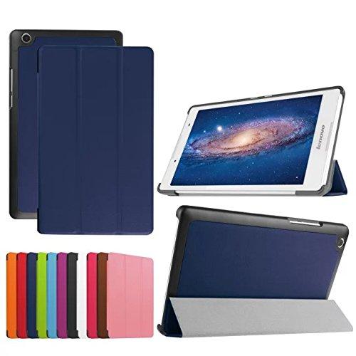 XINDA Lenovo Tab 3 8.0/Tab 2 A8-50 - Coque - Ultra Slim Léger Smart Cover pour Lenovo Tab 3 8 (TB3-850 F/TB3-850 m)/Tab 2 A8-50 Tablette 20,3 cm
