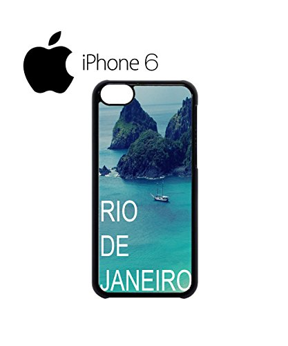 Rio de Janeiro Nature Retro Swag Mobile Phone Case Back Cover Hülle Weiß Schwarz for iPhone 6 White Weiß