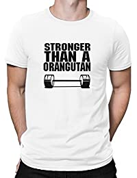 Teeburon Stronger than a Orangutan T-Shirt
