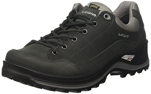 Lowa Renegade III GTX, Chaussures de Randonnée Hautes Homme Marron (Dunkelgrau/grau 9430)