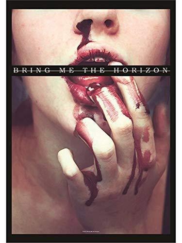 Heart Rock Licensed Flagge Bring Me The Horizon–Blood Lust, Stoff, Mehrfarbig, 110x 75x 0,1cm