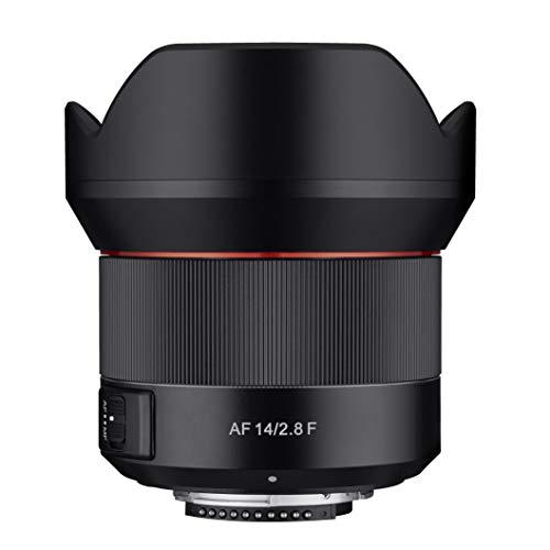 Samyang  AF 14mm F2.8 Autofokus Objektiv mit Festbrennweite für Nikon F Vollformat Schwarz