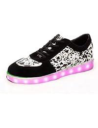 Sneakers nere per unisex Boowjessea Footaction Amazon 2GMMJCv2p7