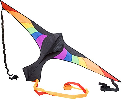 Preisvergleich Produktbild Outdoorspielzeug Lenkdrachen Regenbogen