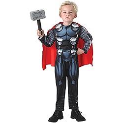 Avengers Disfraz Thor Deluxe infantil, M (Rubie's Spain 610736-M)