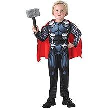 Rubie's - Disfraz Marvel The Avengers Thor para niños, talla 104 cm (92428)