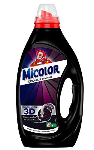 Micolor Detergente Líquido Colores Oscuros - 23 Lavados (1,15 L)