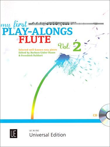 My First Play-Alongs für Flöte mit CD oder Klavierbegleitung: Erste bekannte Stücke aus Mini Magic Flute 2 - Für Anfänger-musik-bücher Flöte