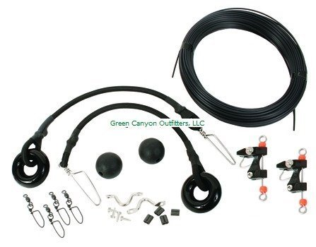 Black's OK-001 Complete Outrigger Kit, Black Finish by Black's