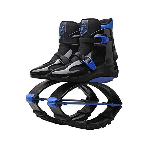 LEFT&RIGHT Unisex Bounce Stivali Potere Scarpe Salto Scarpe Rimbalzo Scarpe gravità Stivali Palestra Fitness Scarpe da Corsa Perdere Peso Scarpe,XL=UK7.5(70~90kg)