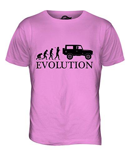 CandyMix 4X4 Evolution Des Menschen Herren T Shirt Rosa