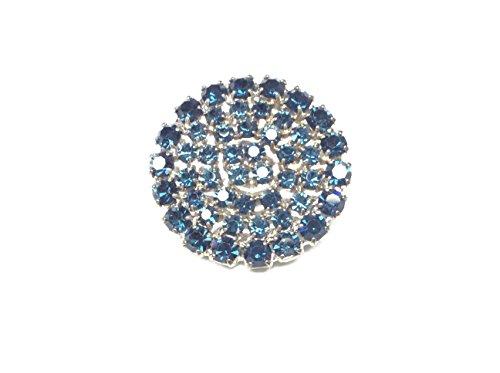 Zoom IMG-2 de liguoro bottone gioiello strass
