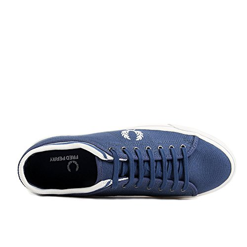 Fred Perry Kendrick Tipped Cuff Canvas Midnight Blue Blue