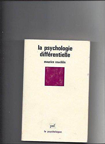 La psychologie differentielle