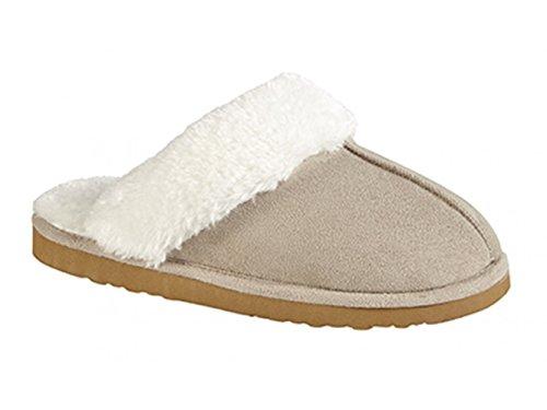 Dunlop, Pantofole donna Beige beige Beige (beige)