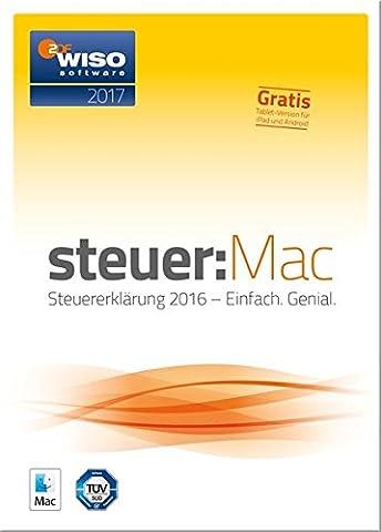WISO steuer:Mac 2017 (für Steuerjahr 2016)