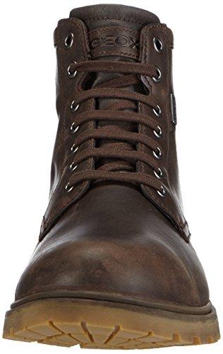Geox U AKIM B ABX C Herren Combat Boots Braun (C6009COFFEE)