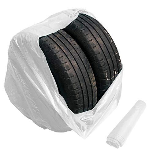 Preisvergleich Produktbild 10 große Reifensäcke Standard Reifentüten Reifenhüllen 1000x1000mm bis 22 Zoll