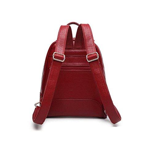 Umhängetasche Handtaschen Reise Rucksack Einfache Wilde College Wind Tasche Freizeit Mode Brown