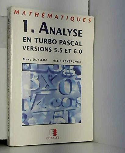 Mathématiques 1 : analyse