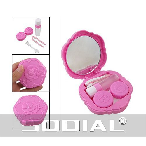 toogoor-fuchsia-rose-design-plastique-lentilles-de-contact-case-avec-bouteille