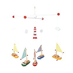 """Legler 7205 Mobile """"Segelboote mit Leuchtturm"""""""