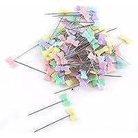 Noyokere 100 Unids Accesorios de Costura Patchwork Pins Pin de Costura con Caja DIY Costura Patchwork Pins Herramientas de Acolchado Pernos de la Modista