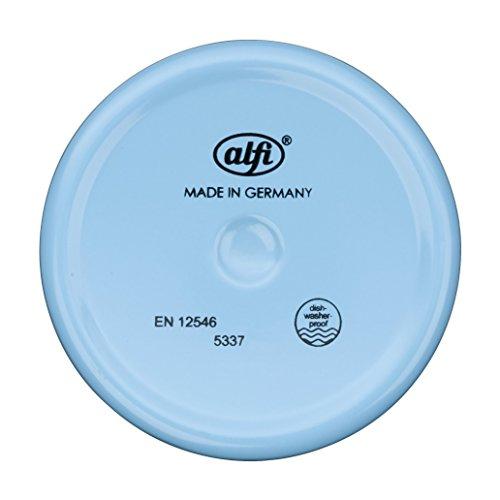 alfi 5377.168.060 elementBottle II Princess pink, 0,6 L Trinkflasche, Edelstahl, blau, 7 x 7 x 22,8 cm
