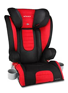 Diono Monterey 2 Expandable Group 2/3 Booster Car Seat (Red)