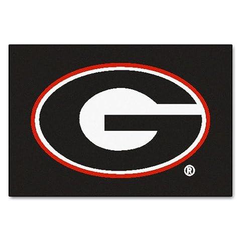 FANMATS 3016 University of Georgia Bulldogs Starter Rug