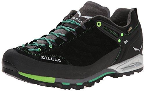Salewa MOUNTAIN TRAINER GORE-TEX - BERGSCHUH HERREN, Herren Trekking- & Wanderhalbschuhe, Schwarz (Black/Assenzio 0944), 42 EU (8 Herren UK) (Herren-casual-schuhe Trainer)