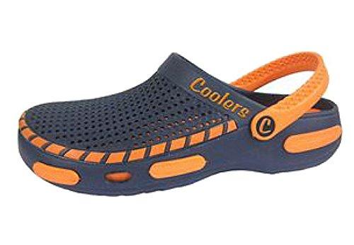 Coolers Herren Strand Clog Sandalen Orange EU 41