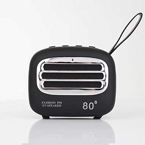 LIUJJ Cute retro creative gift portable subwoofer card mini Bluetooth stereo
